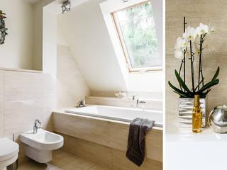 Anna Serafin Architektura Wnętrzが手掛けた浴室