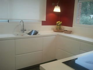 TG KITCHENAMBIENT Modern kitchen MDF White