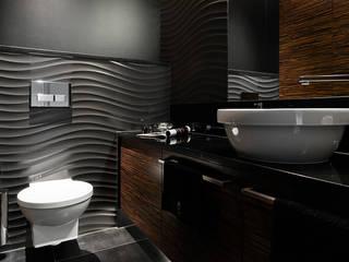 Baños de estilo  por Anna Serafin Architektura Wnętrz