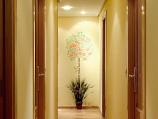 Country style corridor, hallway& stairs by Pinturas oliváN Country