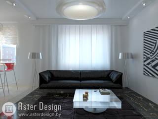 Salas de estilo minimalista de ASTER DECO Minimalista