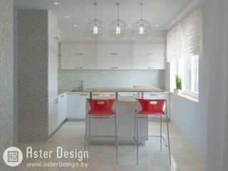 Авторский интерьер Кухня в стиле минимализм от ASTER DECO Минимализм