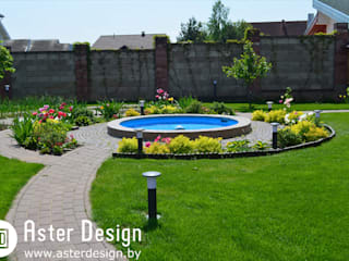 Eclectic style gardens by Aster Garden Eclectic