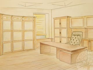 Classic style study/office by Lesomodul Classic