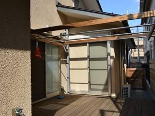 糀谷の家 モダンデザインの テラス の 一級建築士事務所やしろ設計室 モダン