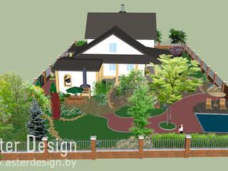 Aster Garden Country style garden