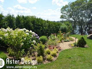Country style garden by Aster Garden Country