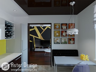 Современный интерьер Кухня в стиле минимализм от ASTER DECO Минимализм