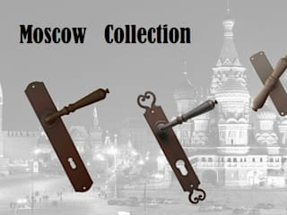 """Moscow"" Collection by Galbusera Galbusera Giancarlo & Giorgio S.n.c. شبابيك الحديد / الصلب"