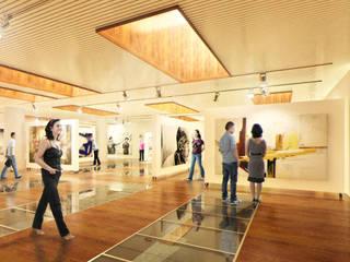 Escuela de artistas Estudios y despachos de estilo moderno de Ivan Gas Chulbi Moderno