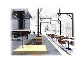 """Terraza """"Lo Carrilet"""" Balcones y terrazas de estilo mediterráneo de Ivan Gas Chulbi Mediterráneo"""