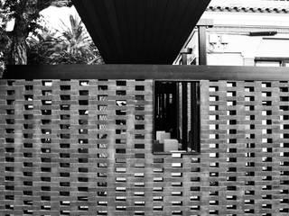 """Terraza Restaurante """"El Parc"""" Balcones y terrazas de estilo moderno de Ivan Gas Chulbi Moderno"""
