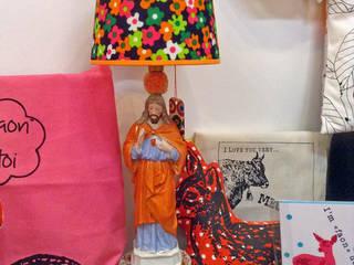 Lampe en boutique ou chez vous:  de style  par Les ineffables by marion laurent