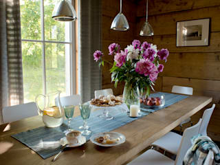 Country style dining room by deco chata Country
