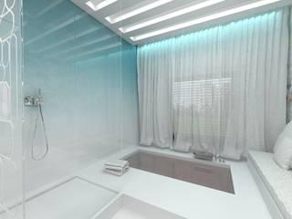 Nowoczesny salon kąpielowy od Luxum Nowoczesny