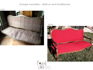 Canapé marseillais:  de style  par Corinne Perdrix Hans