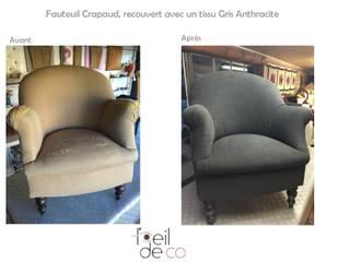Fauteuil Crapaud par Corinne Perdrix Hans Classique