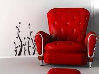 Sezon na truskawki we wnętrzu: styl , w kategorii  zaprojektowany przez ApplyFlock,Nowoczesny