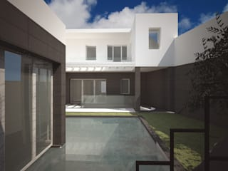Ampliamento e ristrutturazione di una casa unifamiliare: Case in stile  di pars architetti _ Paola Addis & Roberto Senes