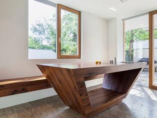 Krailing Moderne Wohnzimmer von Unterlandstättner Architekten Modern