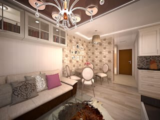 Modern living room by дизайн-бюро ARTTUNDRA Modern