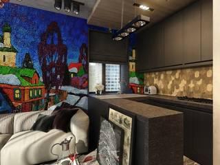 AR-KA architectural studio Kitchen