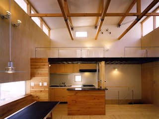 Rumah Gaya Rustic Oleh ADS一級建築士事務所 Rustic