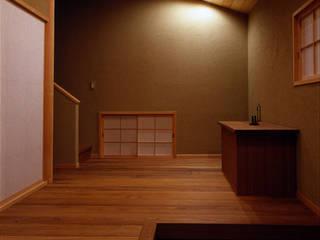 玄関 オリジナルな 壁&床 の 松井建築研究所 オリジナル