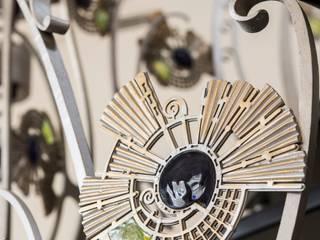 фрагмент кованной лестницы:  в . Автор – Архитектурно-дизайнерское бюро Натальи Медведевой 'APRIORI design'