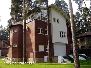 AR-KA architectural studio Modern houses