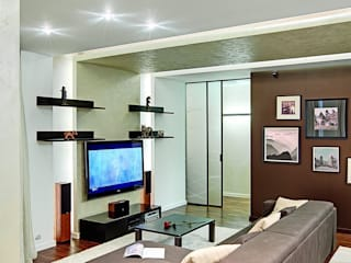 Salas de estilo moderno de AR-KA architectural studio Moderno