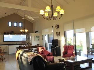 espacio integrado Salones rurales de Parrado Arquitectura Rural