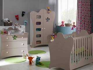Dormitorios de bebé completos de Mobikids Moderno