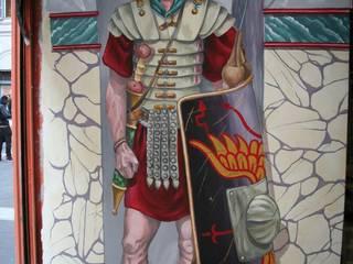 decorazioni pittoriche:  in stile  di Sardecor