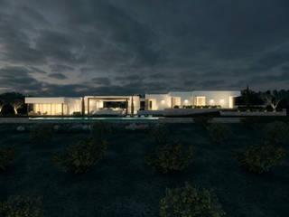 Can Arena Casas de estilo mediterráneo de Atlant de Vent Mediterráneo