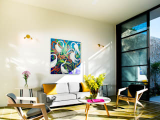 Salas modernas de Taller Estilo Arquitectura Moderno