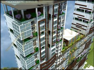 ARENA MİMARLIK – Garden City: modern tarz Evler