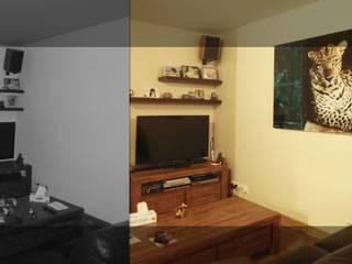 Rénovation et aménagement d'une maison : Cocooning Vivifiant par Origin Interior Design Moderne