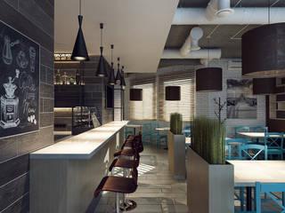 Кафе в стиле Loft | Minsk от M5 studio Лофт