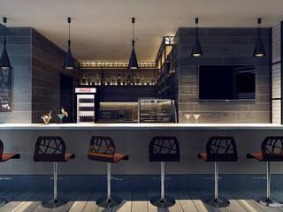 Кафе в стиле Loft | Minsk Бары и клубы в стиле лофт от M5 studio Лофт