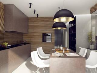 WOOD project: Кухни в . Автор – M5 studio,