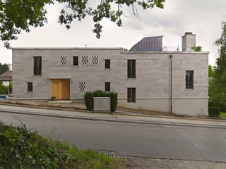 Strassenfassade:  Häuser von Käferstein & Meister   Dipl. Architekten ETH BSA SIA