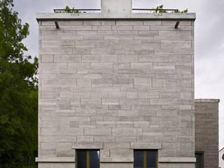Südansicht:  Häuser von Käferstein & Meister   Dipl. Architekten ETH BSA SIA