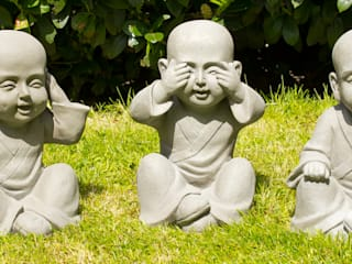 Boeddha Tuinbeelden van Inspiring Minds Aziatisch