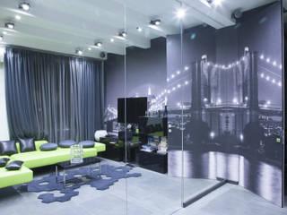 гостиная от Архитектурно-дизайнерское бюро Натальи Медведевой 'APRIORI design' Минимализм