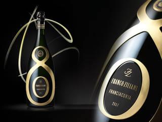 Guido Berlucchi limited edition Franco Ziliani:  in stile  di Sga Corporate & Packaging Design