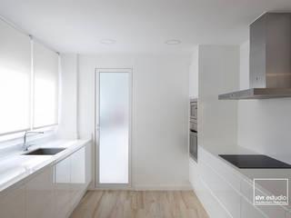Cocinas de estilo minimalista por slvr estudio