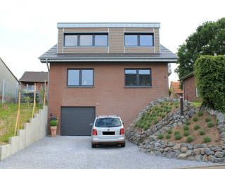 2013-001 Umbau EFH Schafhausen: moderne Häuser von ludebühl | architekten