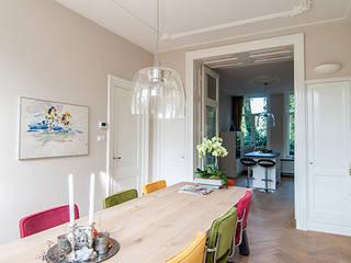 Eetkamer:  Eetkamer door Lumen Architectuur