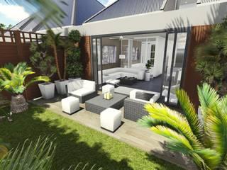 Perspectivisme 3D - Jardin et terrasse:  de style  par 3Dgraphiste.fr